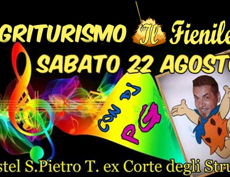 22 Agosto Weekend di Festa e divertimento